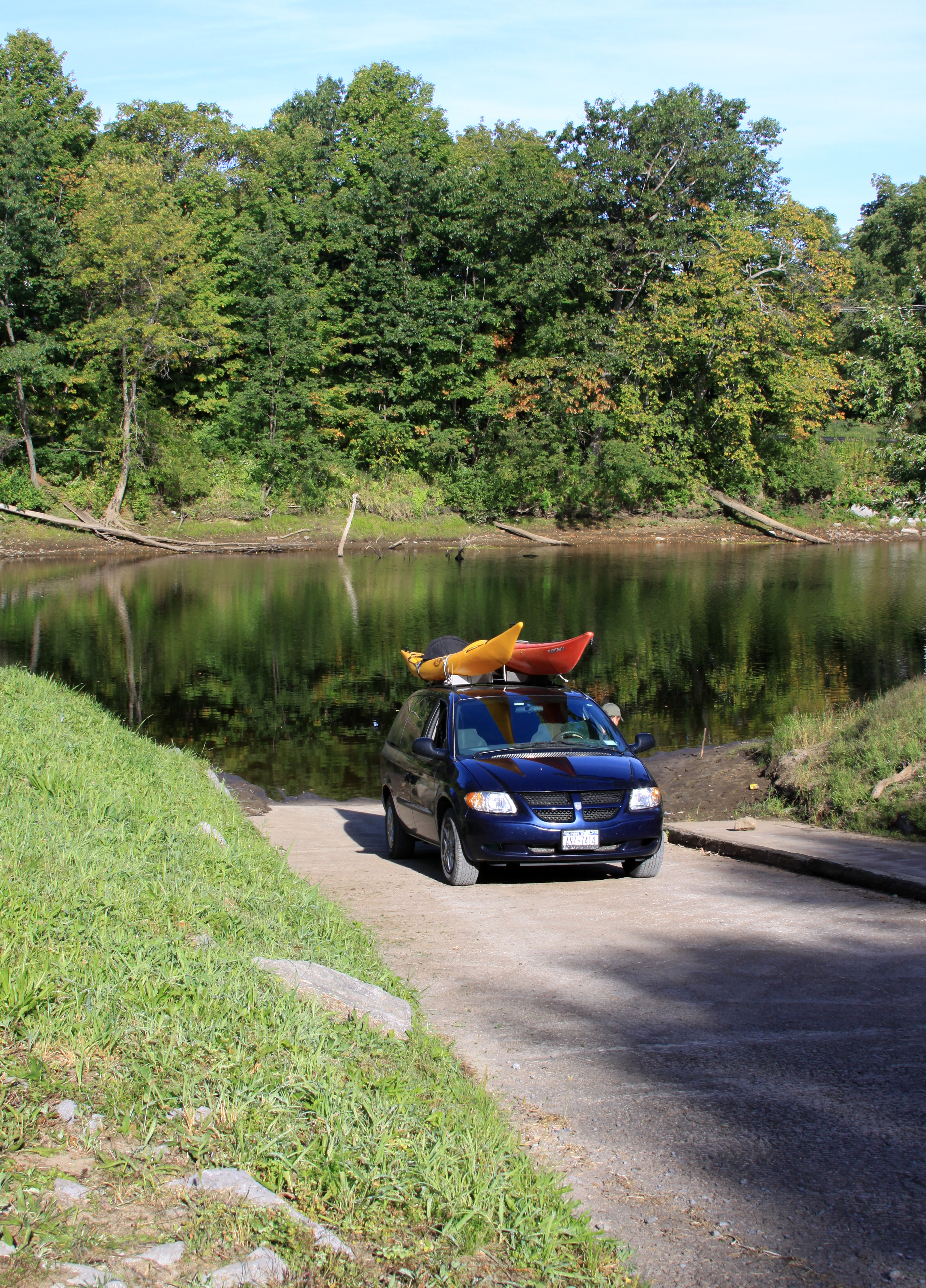 Dec glenfield boat launch boat ramp fishing access for Fishing access near me